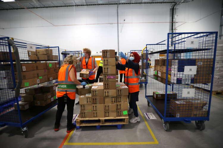 Exclusive: Amazon starts testing UK staff for coronavirus variants