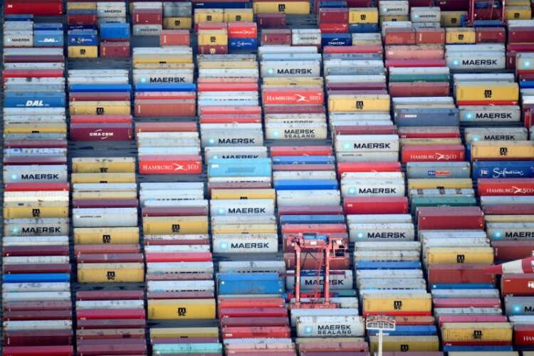 Euro zone trade surplus surges, but less than expected, in April