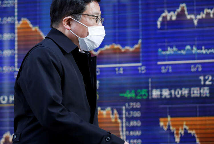 Asia extends global stocks rally, U.S. bond yields fall on easing inflation fears