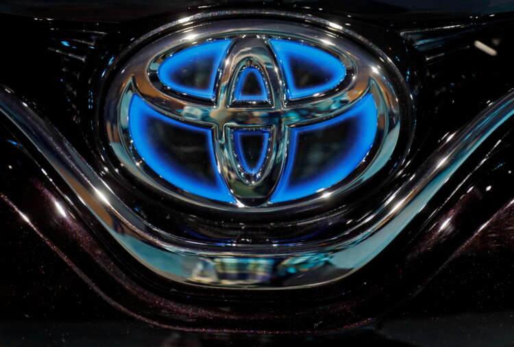 Toyota aims to make its factories carbon neutral by 2035, says executive