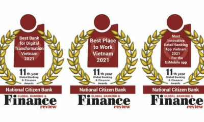 National Citizen Bank honored with awards in the 2021 in the Global Banking & Finance Awards® 25