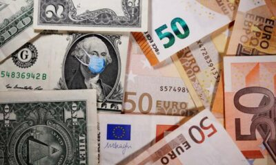 U.S. dollar falls as euro climbs in risky FX rout 21