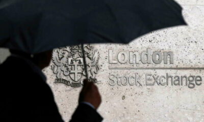 FTSE 100 ends lower as pound jumps after inflation rises further in June 11