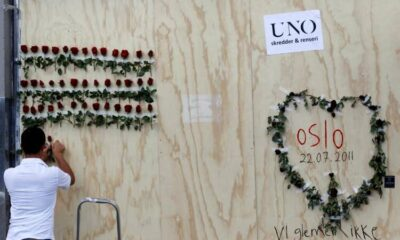 Bells toll across Norway to mark 10 years since neo-Nazi Breivik killed 77 people 24