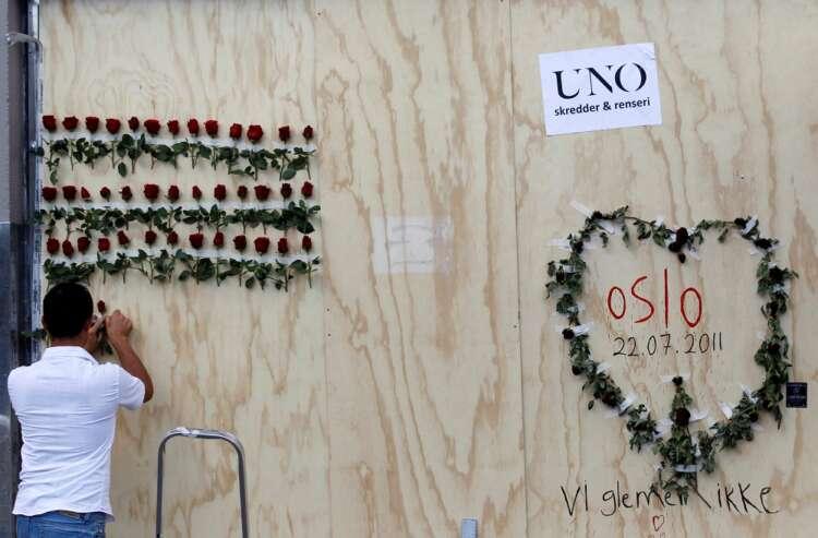 Bells toll across Norway to mark 10 years since neo-Nazi Breivik killed 77 people 1