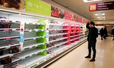 'Pingdemic' puts Britain's food supply under strain 15