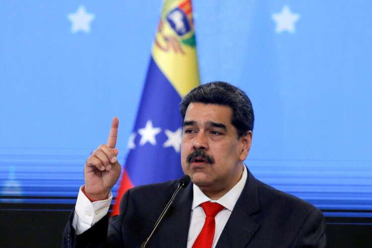 Britain sanctions Venezuelan President Maduro's envoy Saab 1