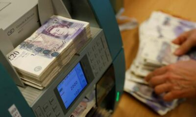 Sterling drops as COVID 'pingdemic' hits rebound in July 6