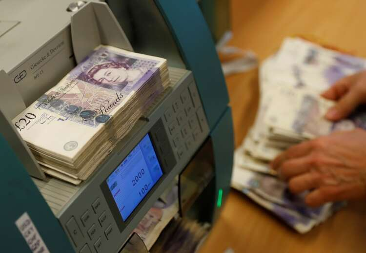 Sterling drops as COVID 'pingdemic' hits rebound in July 1