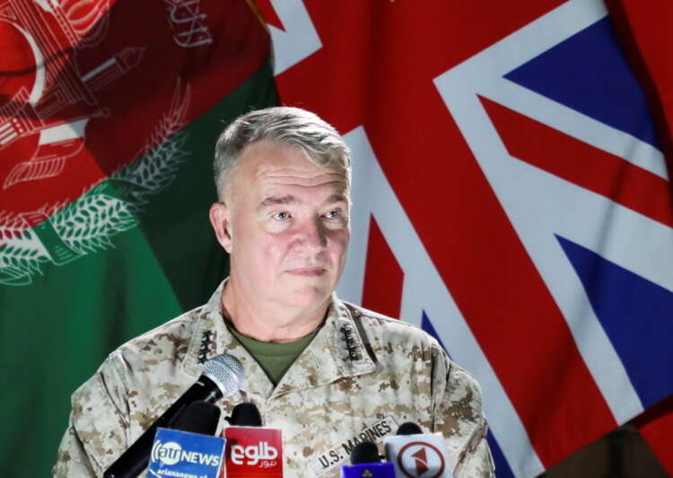U.S offers further air support to Afghan troops amid Taliban offensive 1