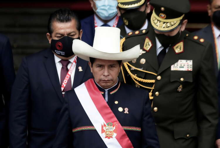 Peru's Castillo, in first speech as president, pledges to heal colonial wounds 1