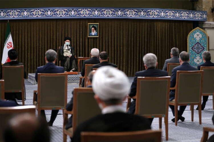 Iran's Khamenei blames 'cowardly' U.S. for pause in nuclear talks 1
