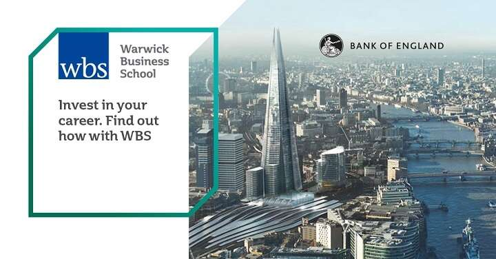 Discover the Global Central Banking and Financial Regulation Qualification from WBS, in partnership with the Bank of England. 3