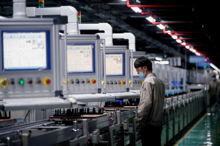 China's factory activity in July grows at slowest pace since Feb 2020 1
