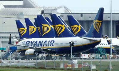 Ryanair passenger numbers rise in August to 11.1 million 13