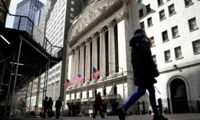 Global stock benchmark at new high, dollar slips 7