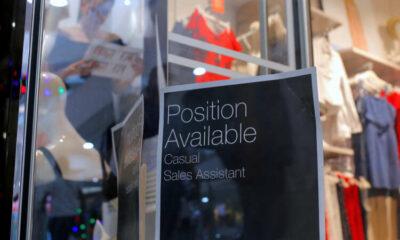 Australia job ads fall 2.5% in August as lockdowns spread 1