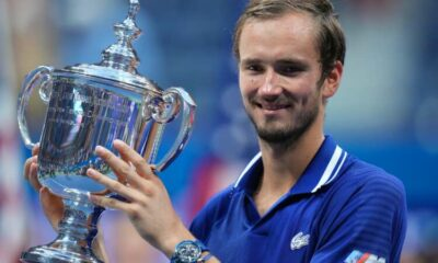 Tennis-Medvedev wins U.S. Open to end Djokovic calendar Grand Slam bid 11