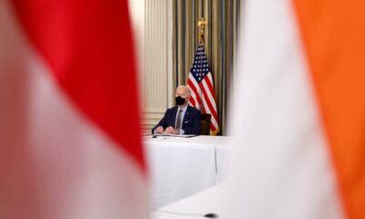 Biden to host leaders of Australia, India, Japan at White House next week 7