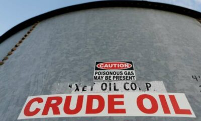 Oil prices climb after drawdown in stocks, positive demand outlook 21