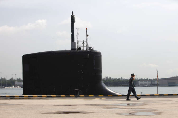 China, France denounce U.S. nuclear sub pact with Britain, Australia 1