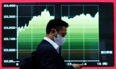 Asian shares fall again, dollar drifts 17