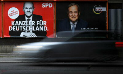 SPD's Scholz offers steel sector help as German election race tightens 17