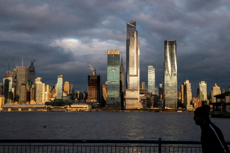 New York, London keep top spots in global financial centres index 1