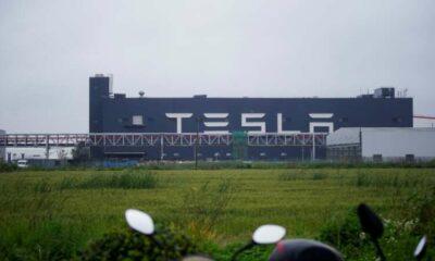 Tesla Shanghai to make 300,000 cars Jan-Sept despite chip shortage - sources 13