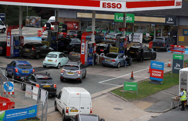 BP says nearly a third of its UK fuel stations running on empty 1