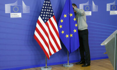 "EU trade chief ""moderately optimistic"" of resolving U.S. tariff dispute 5"