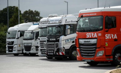 UK lorry driver crisis boosts transport software firm Microlise 19