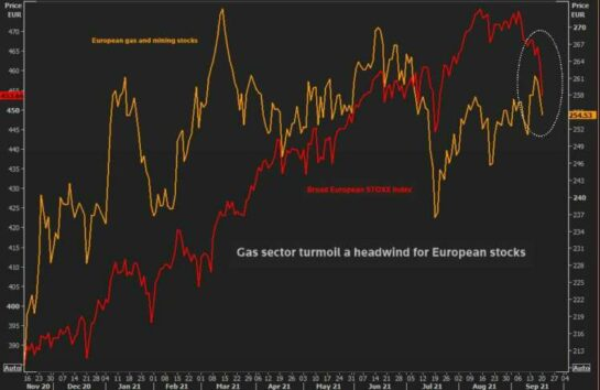 Gas price surge, just one more headwind for world economy 13