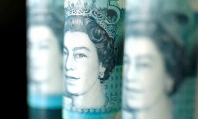 Sterling consolidates near six-day highs vs dollar, euro 3