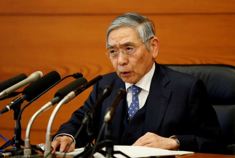 BOJ's Kuroda: Told G20 that global economy continues to recover 1